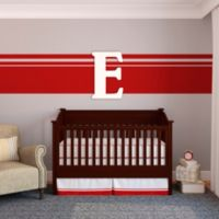 "Munch™ Oversized White Painted Letter ""E"""
