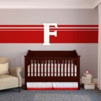 "Munch™ Oversized White Painted Letter ""F"""