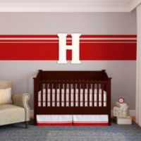 "Munch™ Oversized White Painted Letter ""H"""