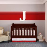 "Munch™ Oversized White Painted Letter ""J"""