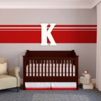 "Munch™ Oversized White Painted Letter ""K"""