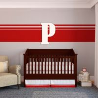 "Munch™ Oversized White Painted Letter ""P"""