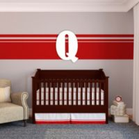 "Munch™ Oversized White Painted Letter ""Q"""