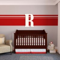 "Munch™ Oversized White Painted Letter ""R"""