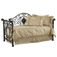 Hillsdale Mercer Daybed with Suspension Deck and Trundle in Antique Brown