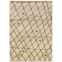 Oriental Weavers™ Marrakesh Contemporary Grid 7-Foot 10-Inch x 11-Foot Rug in Ivory