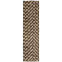 Oriental Weavers™ Marrakesh Zig Zag 2-Foot 7-Inch x 10-Inch Runner in Brown