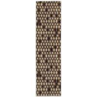 Oriental Weavers™ Marrakesh Diamond 2-Foot 7-Inch x 10-Foot Rug in Brown