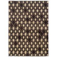 Oriental Weavers™ Marrakesh Diamond 9-Foot 9-Inch x 12-Foot 2-Inch Rug in Brown