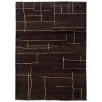 Oriental Weavers™ Marrakesh Broken Lines 7-Foot 10-Inch x 11-Foot Rug in Brown