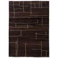 Oriental Weavers™ Marrakesh Broken Lines 9-Foot 9-Inch x 12-Foot 2-Inch Rug in Brown