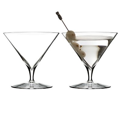 waterford elegance martini glasses set of 2