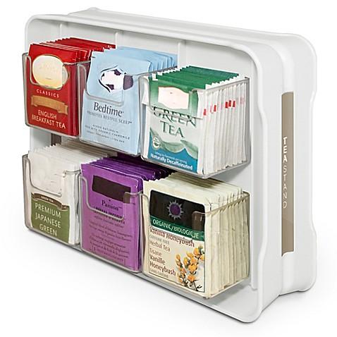 Youcopia 174 Teastand 100 Tea Bag Organizer Bed Bath Amp Beyond
