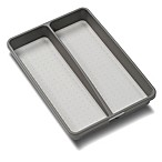 madesmart® 2-Compartment Mini Utensil Tray in Grey
