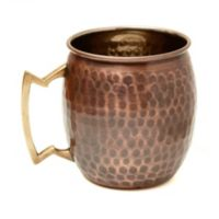 Old Dutch International 16 oz. Antique Hammered Copper Moscow Mule