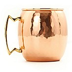 Old Dutch International 24 oz. Moscow Mule Mug with Hammered Finish in Solid Copper