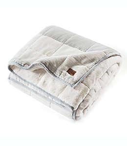 Frazada a rayas con peso reversible, Serene UGG® 5.44 kg en gris