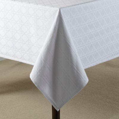 Wamsutta® Cane 70 Inch X 90 Inch Oblong Tablecloth