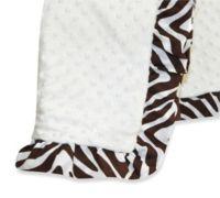Pam Grace Creations Zara Zebra Baby Blanket