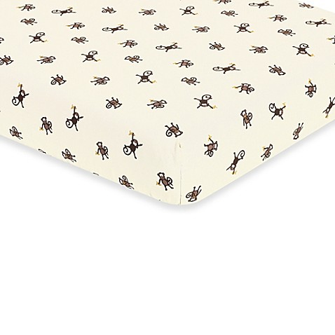 Monkey do Crib Bedding