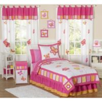 Sweet Jojo Designs Butterfly 3-Piece Full/Queen Bedding Set