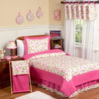 Sweet Jojo Designs Mod Circles 3 Piece Full Queen Bedding Set In Pink