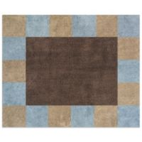 Sweet Jojo Designs Soho 30-Inch x 36-Inch Accent Rug in Blue/Brown
