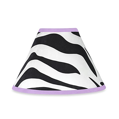 Funky Zebra Lamp Shade by Jojo Designs
