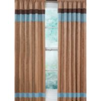 Sweet Jojo Designs Soho 84-Inch Window Panels in Blue/Brown (Set of 2)