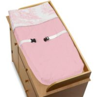 Sweet Jojo Designs Pink French Toile Changing Pad Cover