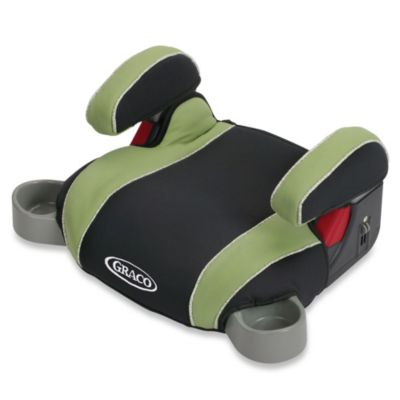 graco backless turbobooster car seat in go green buybuy baby. Black Bedroom Furniture Sets. Home Design Ideas
