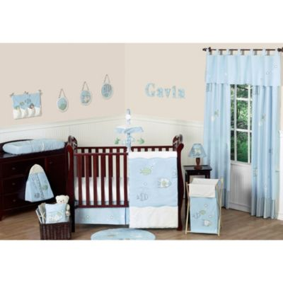 Sweet Jojo Designs Go Fish Crib Bedding Collection 11