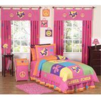 Sweet Jojo Designs Groovy 4-Piece Twin Comforter Set
