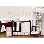 Sweet Jojo Designs Pink French Toile 11-Piece Crib Bedding Set