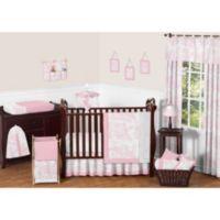 Sweet Jojo Designs Pink French Toile 11-Piece Crib Bedding Set