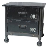 Moe's Home Collection Soho Cabinet in Black