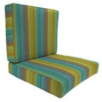 45-Inch x 25-Inch 2-Piece Deep Seat Chair Cushion in Sunbrella® Astoria Lagoon
