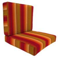 45-Inch x 25-Inch 2-Piece Deep Seat Chair Cushion in Sunbrella® Astoria Sunset