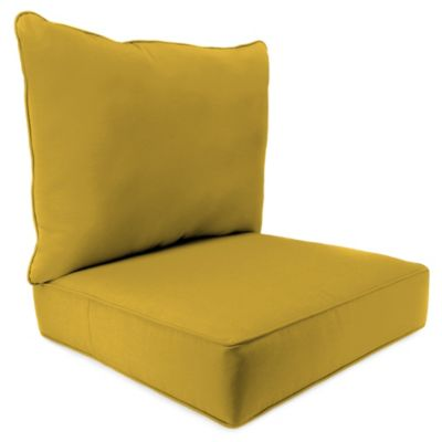 24inch x 24inch 2piece deep seat chair cushion in sunbrella