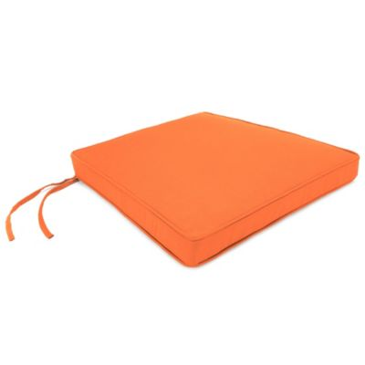 Lovely 18 Inch X 20 1/2 Inch Trapezoid Chair Cushion In Sunbrella