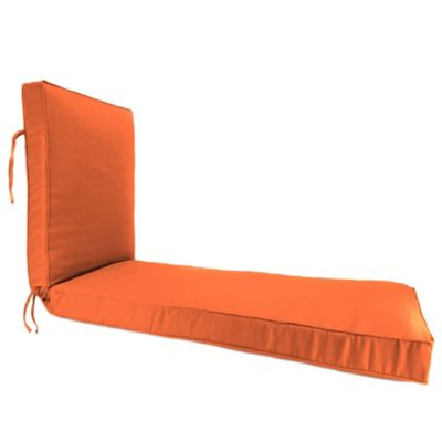 68-Inch x 24-Inch Chaise Lounge Cushion in Sunbrella® Canvas Tuscan  sc 1 st  Bed Bath u0026 Beyond : orange chaise lounge cushions - Sectionals, Sofas & Couches
