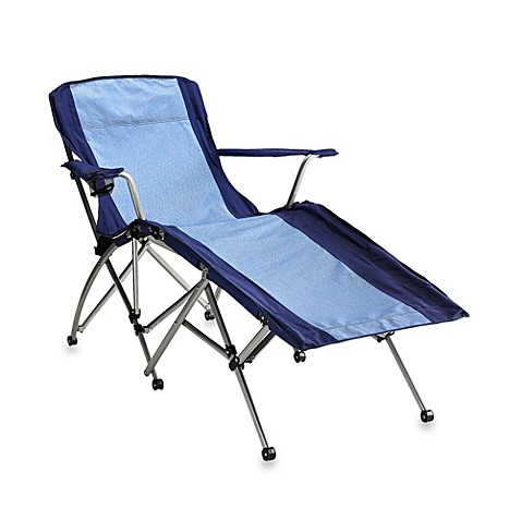 Folding Chaise Lounge Chair with Cup Holder  sc 1 st  Bed Bath u0026 Beyond : folding chaise lounge chair - Sectionals, Sofas & Couches