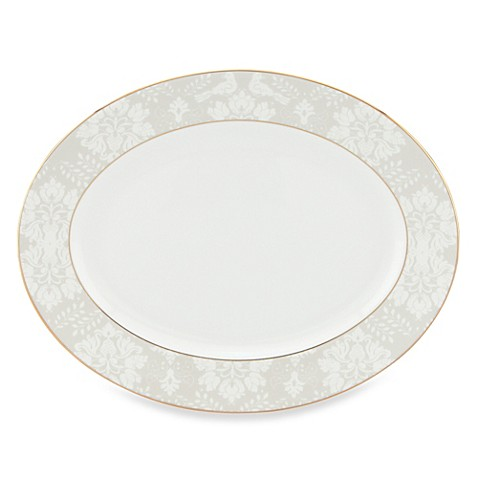 Scalamandre by Lenox® Love Bird 13-Inch Oval Platter