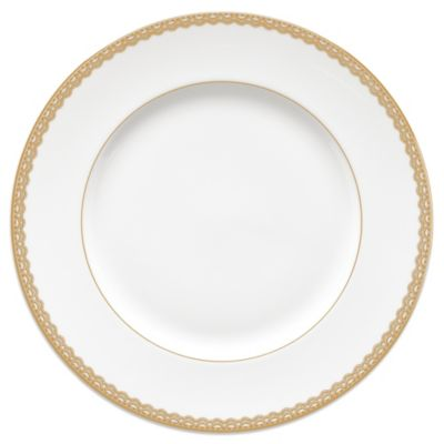 Waterford® Lismore Lace 10 3/4-Inch Dinner Plate in Gold  sc 1 st  Bed Bath u0026 Beyond & Buy 10