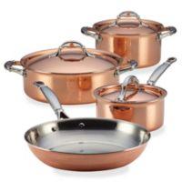 Ruffoni Symphonia Cupra 7-Piece Copper Cookware Set