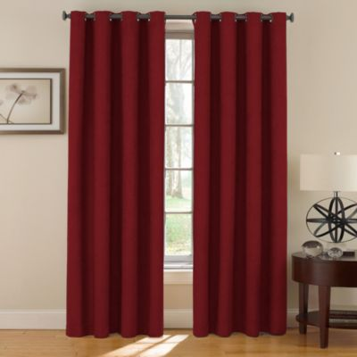 Buy Red Grommet Curtains From Bed Bath Beyond