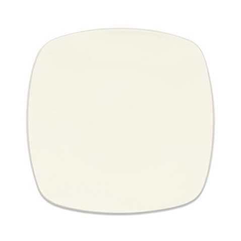Noritake® Colorwave Square Dinner Plate in Cream