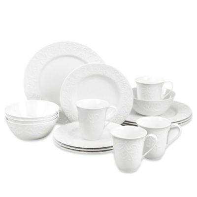Lenox® Opal Innocence™ Carved 16-Piece Dinnerware Set  sc 1 st  Bed Bath u0026 Beyond & Buy Lenox Casual Dinnerware from Bed Bath u0026 Beyond