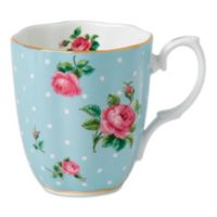 Royal Albert Polka Dot Mug in Blue
