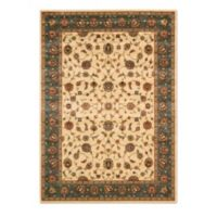 Nourison Persian Arts Kashan 5-Foot 3-Inch x 7-Foot 5-Inch Rectangle Rug in Ivory